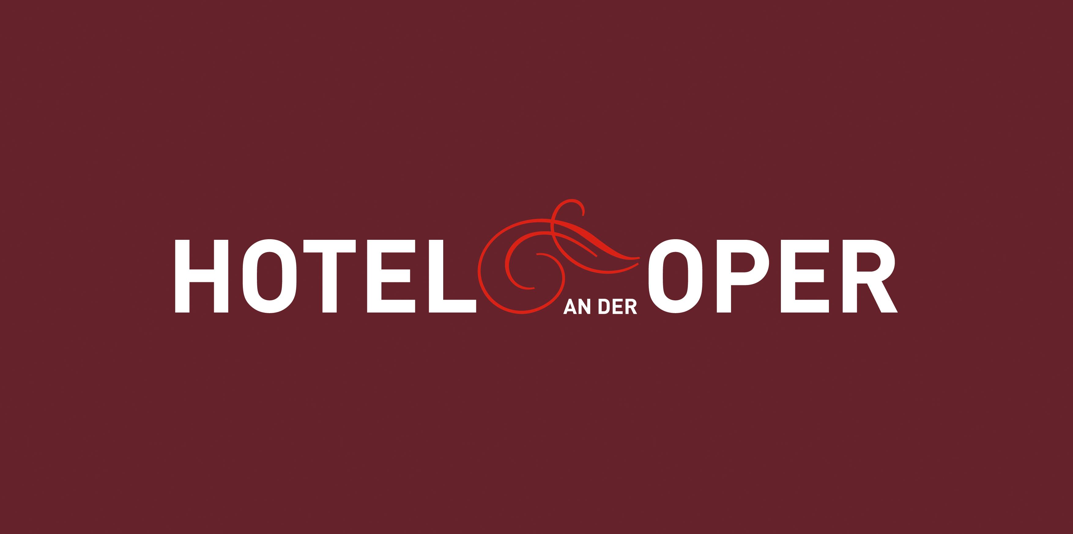 Hotel an der Oper - Logo - auf Kasten