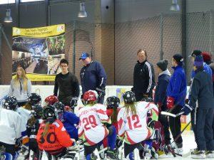 Girlseishockeycamp in Sonneberg