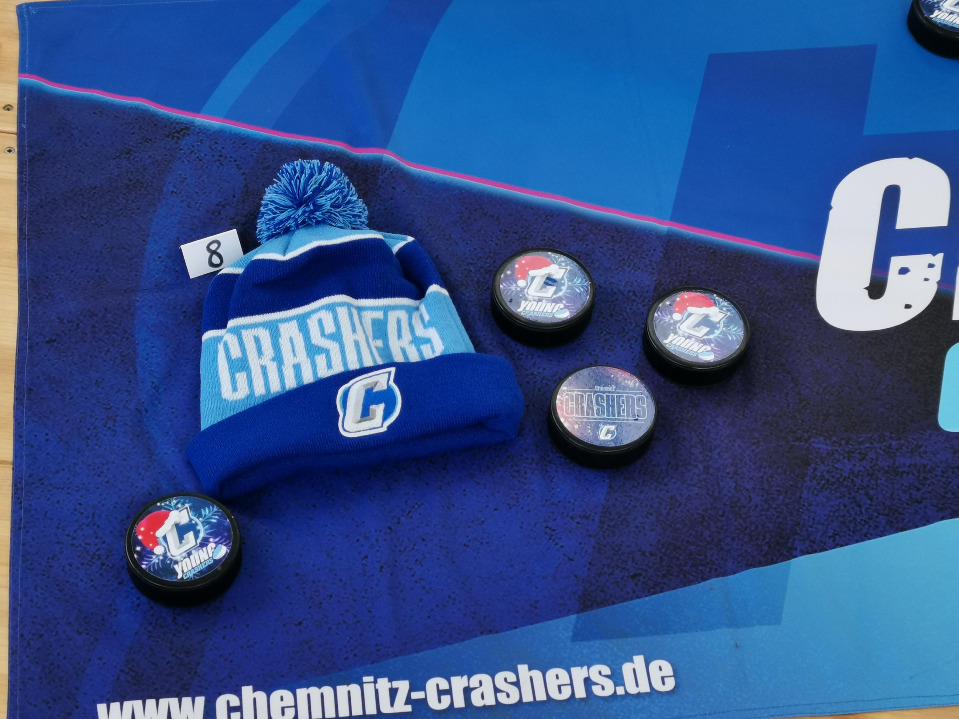 8. Crashers-Bommelmütze
